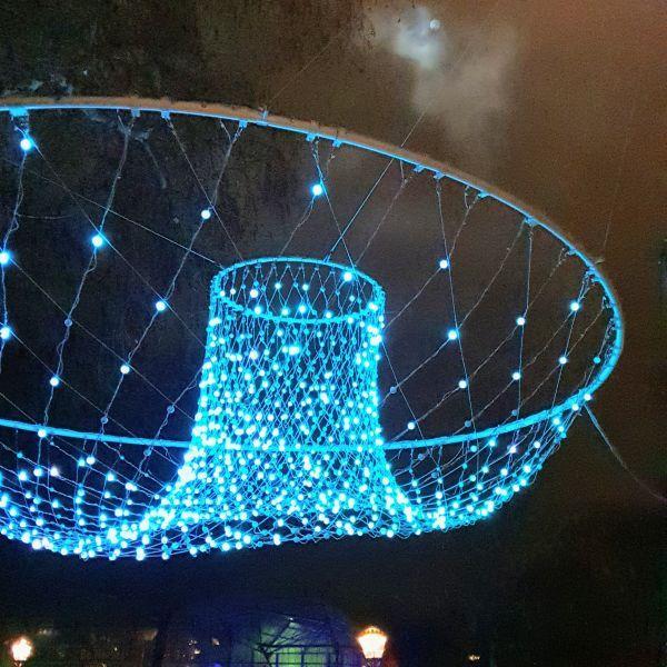 Amsterdam Light Festival per sloep