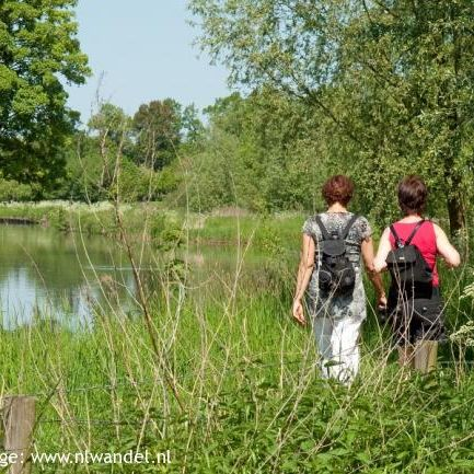 Bunnik: kromme Rijnpad en Zeister Landgoederen