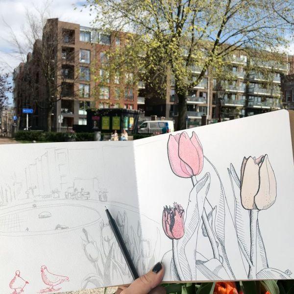 Tip van de redactie: Urban Sketching